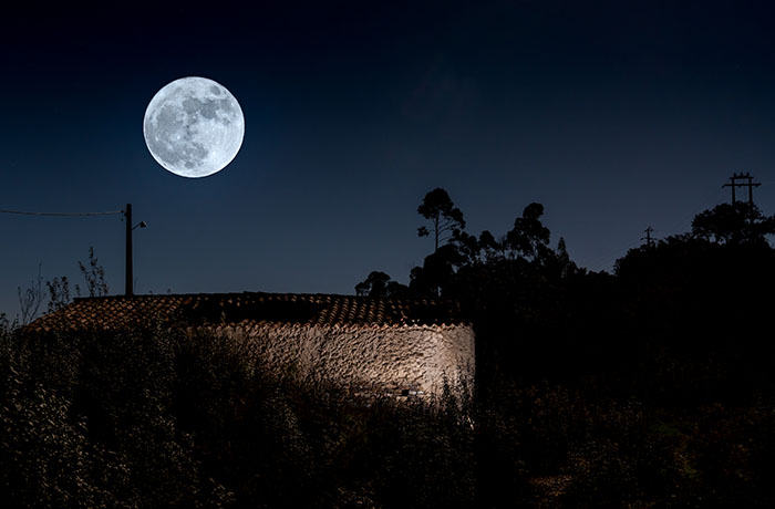 Supermoon Algarve