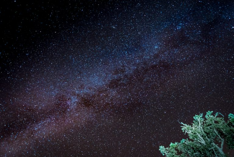 Test Shot of the Milky Way